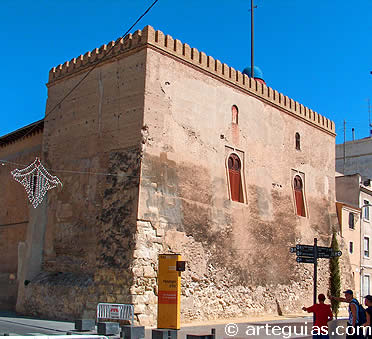 Torre de la Calahorra (torre almohade) de Elche. Alicante