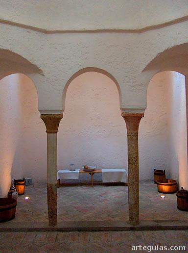 Baños Romanos Girona:Los edificios de baños de nueva planta