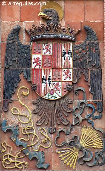 Resultado de imagen de escudo españa reyes católicos