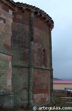 Iglesia románica de Lara de los Infantes, tierras en que nació el conde dos siglos antes
