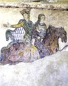 Leonor de Aquitania y Juan sin Tierra