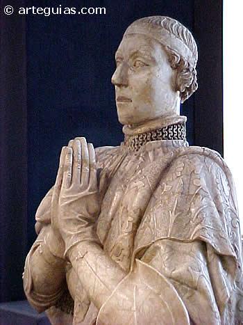 Pedro I el Cruel. Estatua del Museo Arqueológico Nacional