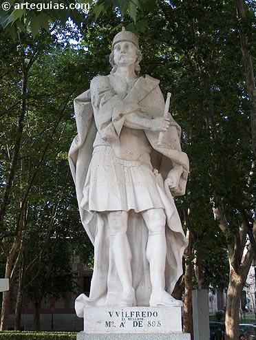 Estatua de Wifredo el Velloso