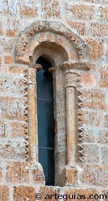 Ventanal de la torre de San Juan, Castrojeriz