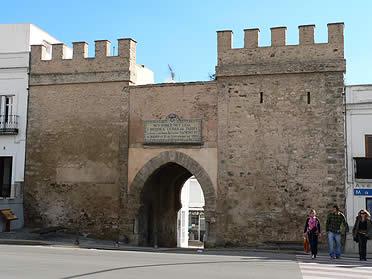Puerta de Jerez. Muralla de Tarifa