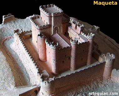 Maqueta del castillo de Turégano