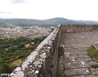 Vistas desde la terraza de la torre del homenaje