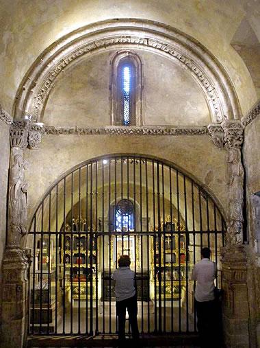 Piso alto de la Cámara Santa de la Catedral de Oviedo