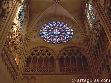 Brazo del crucero d la catedral de Burgos
