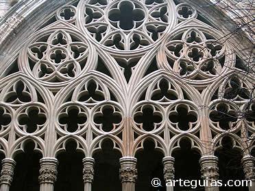 Detalle del claustro de la Catedral de Lleida