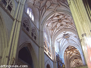 Catedral de Palencia. Nave central