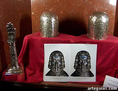 Reliquias de los mártires