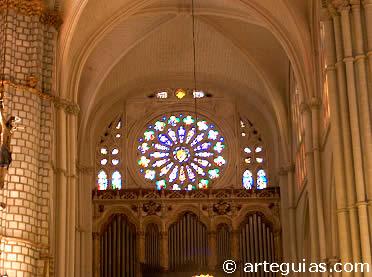 Transepto de la Catedral de Toledo