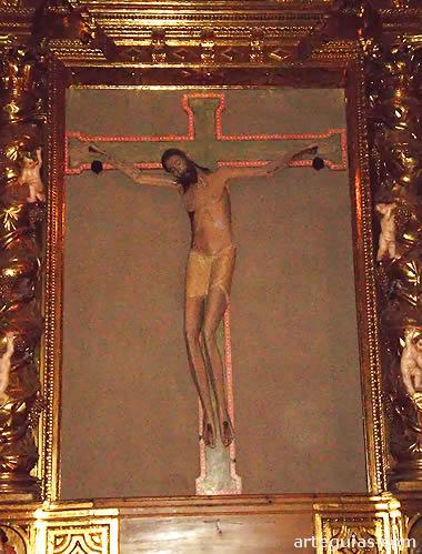 Cristo románico de la Capilla de Lecina
