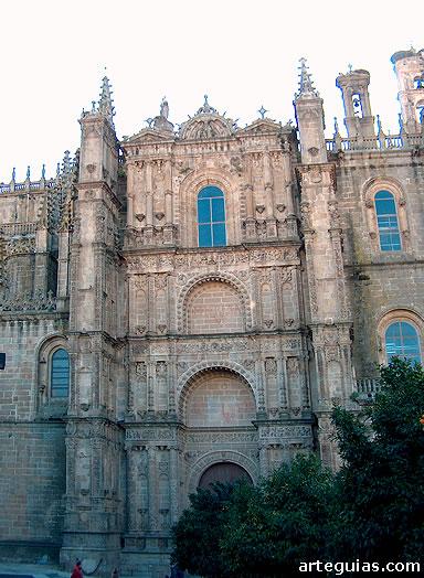 Catedral Nueva de Plasencia: fachada norte