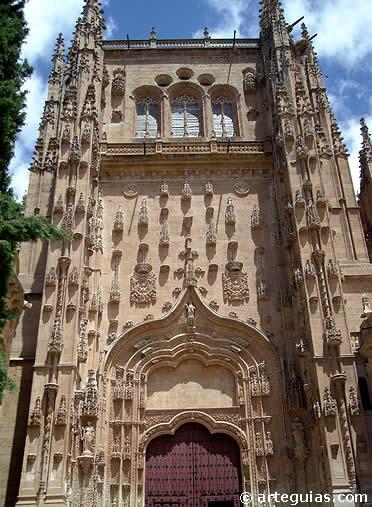 Catedral nueva de salamanca for Puertas salamanca