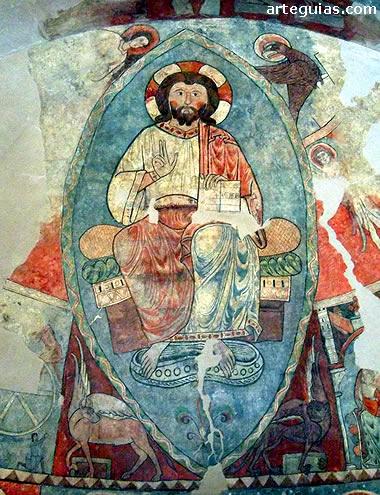 Maiestas Domini de la iglesia de San Vicente de Vió
