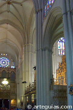 Transepto de la catedral