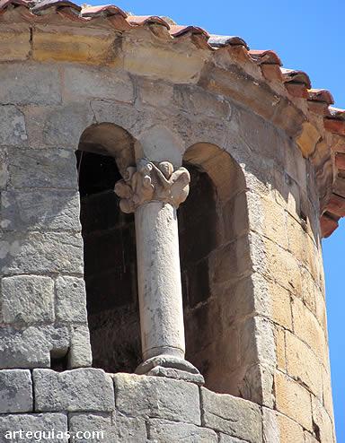 Tronera de la torre cilíndrica