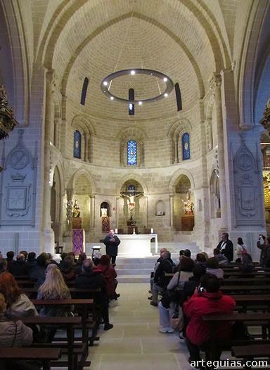 Una de las visitas del viaje: San Pedro de la Rúa de Estella, Navarra