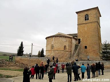 Visita a la iglesia de El Olmo