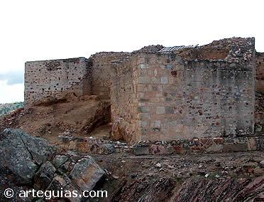 Restos del castillo de  Alfonso VIII. Alarcos