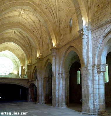 Iglesia del monasterio de Santa María la Ral de Sacramenia