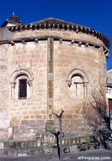 Ábside de San Martín de Sacramenia