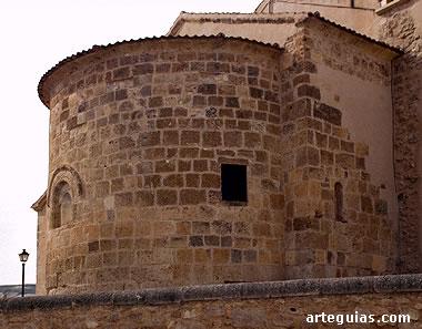 Cabecera de la iglesia de Santa Marina