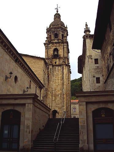 Iglesia de San Pedro de Ariznoa, en Bergara, Guipúzcoa