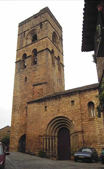 Iglesia parroquial románica de Santa María de Aínsa, Huesca