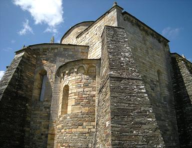 Cabecera, transepto y cimborrio