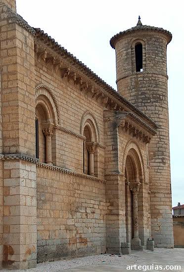 Costado norte de la iglesia
