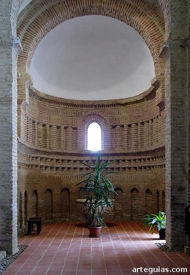 Interior del ábside meridional