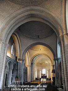Angulema. Arquitectura románica francesa