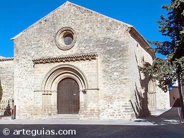 iglesia de santa cruz de baeza jan
