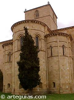Arquitectura románica: Cabecera de San Vicente de Ávila