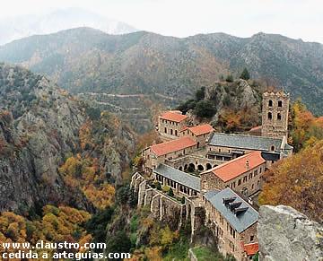 Conjunto monástico de Sant Martí del Canigó