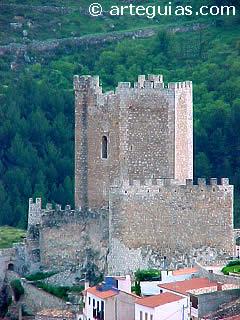 Castillo de Alcalá del Júcar, de los más pintorescos de la provincia de Albacete