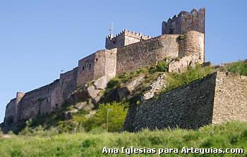 Castillo de Alburquerque. Badajoz