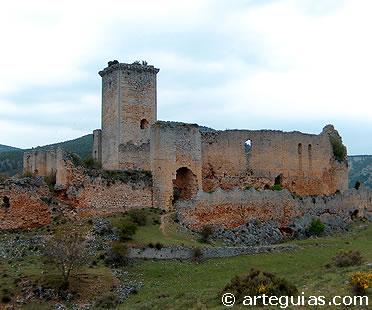 Castillo de Ucero. Norte de Soria