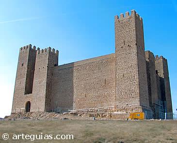 Castillo de Sádaba. Zaragoza