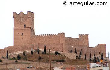 Castillo de Villena. Alicante