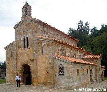 San Salvador de Valdediós. Una de las obras más tardías de la arquitectura prerrománica asturiana