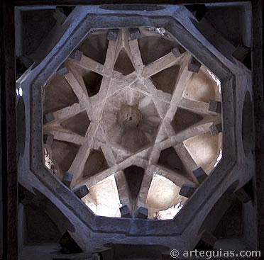 Bóveda de  la Mezquita de Bib-Al-Mardum (luego llamada Cristo de la Luz)
