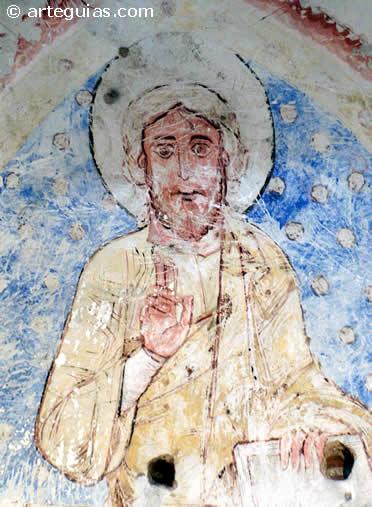 Pantocrator románico del Cristo de la Luz