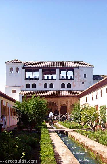 Patio del Generalife. Granada