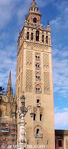 Giralda de Sevilla. Antiguo alminar almohade