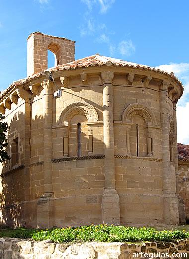 Iglesia de Castilseco. Comarca de Obarenes. La Rioja