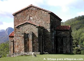 Santa Cristina de Lena. Una de las obras maestras de la arquitectura prerrománica asturiana